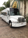White International Party Bus